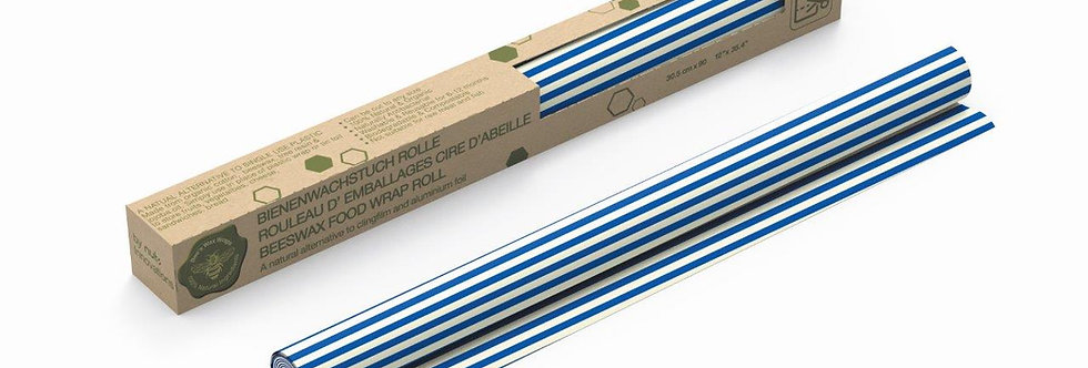 Beeswax Roll Stripes Blue