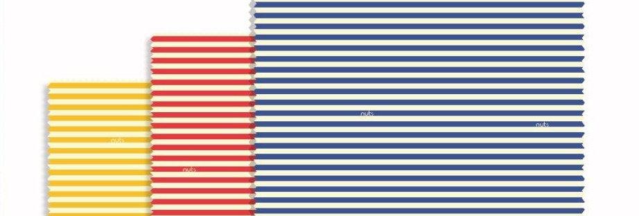 Beeswax Wraps Set of 3 Stripes