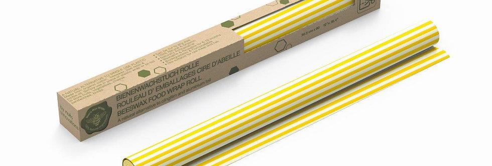 Beeswax Roll Stripes Yellow