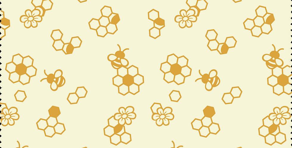 Bienenwachstuch 25 x 28 cm
