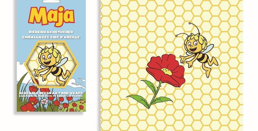 Bienenwachstuch Biene Maja