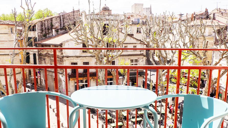 Balcon privatif