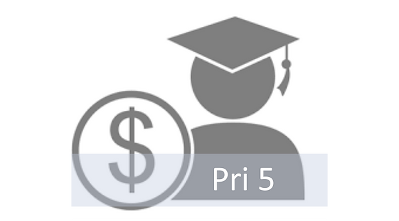 Primary 5 Tutorial Fee (Any 5 subjects)