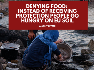 Denying food: instead of receiving protection people go hungry on EU soil