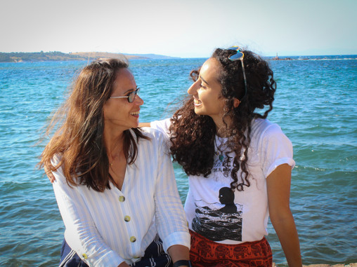 Meet the Mother-Daughter Translate Team