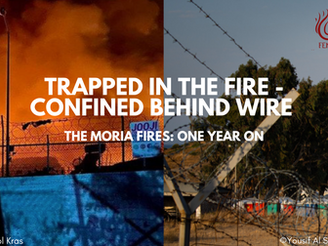 Press Release: TRAPPED IN THE FIRE - CONFINED BEHIND WIRe