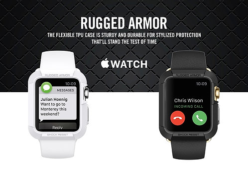 Rugged Armour for Apple Watch by SPIGEN Korea