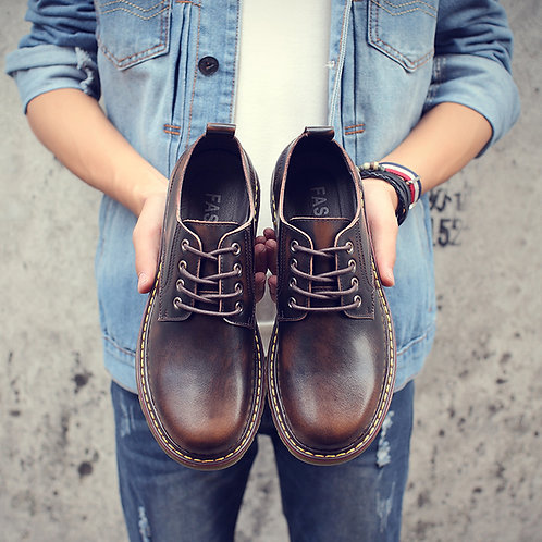 Brown Mart Boots
