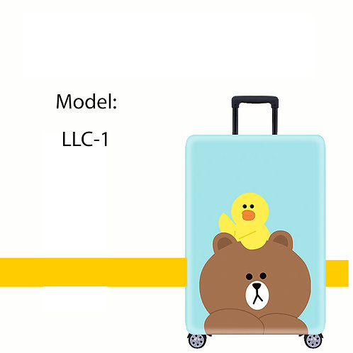 LINE Friends Luggage Cover