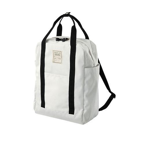 White Backpack by GU Japan