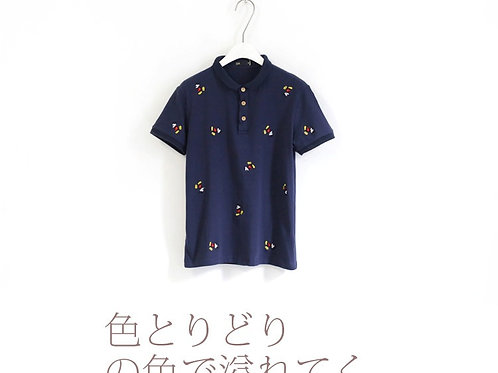 Mickey Mouse Embroidered Polo