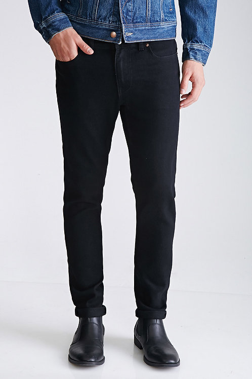 Washed Jeans in Black