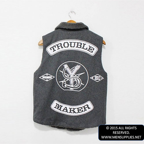 Trouble Maker Fleece Vest
