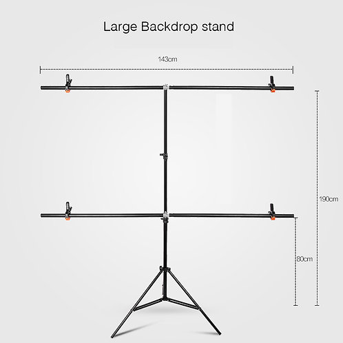 Studio Photography Large Backdrop Stand