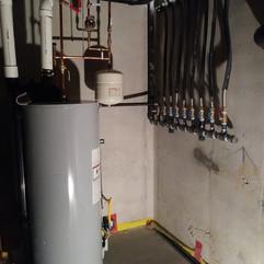 High efficiency storage heater