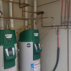High efficiency storage heaters