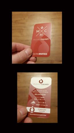 Invite Cards Spot UV