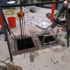 Pump servicing