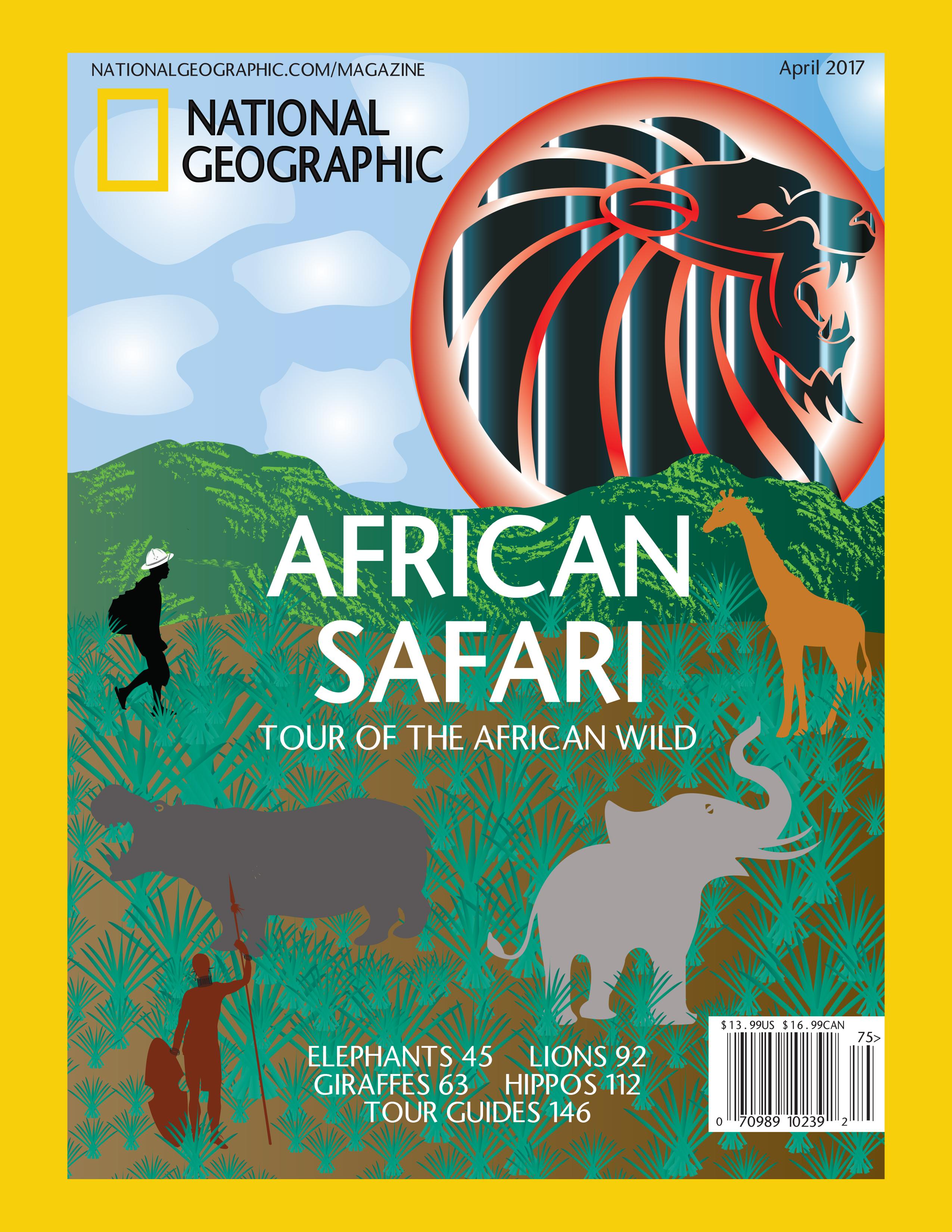 African Safari Magazine Cover