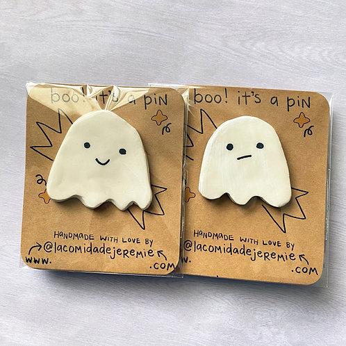 ghost boys clay pin