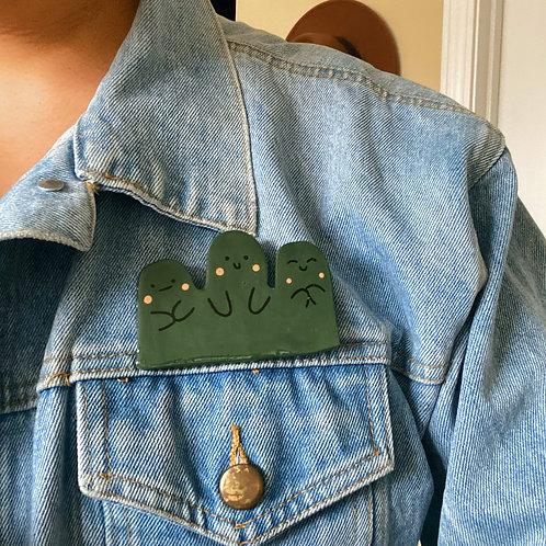mountain friends pin