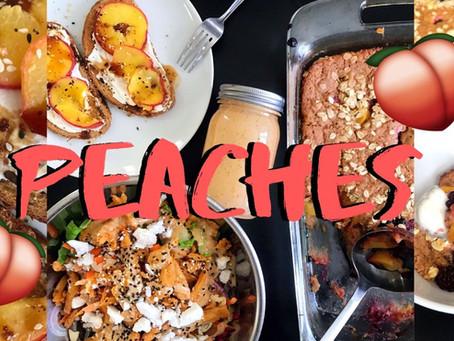 Peaches 4 Ways