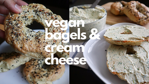 Vegan Bagels & Cream Cheese