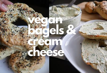 Vegan Bagels & Cream Cheese