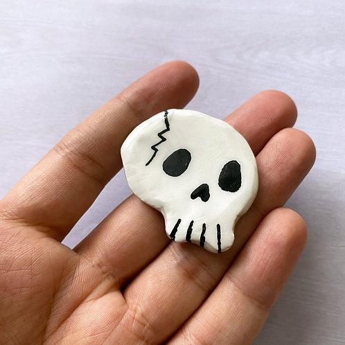 skully clay pin