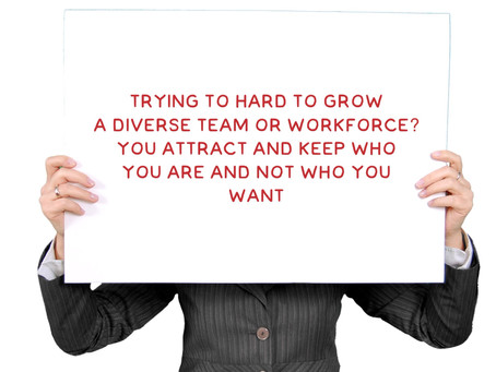Why Does Everyone Look the Same in Your Organization?