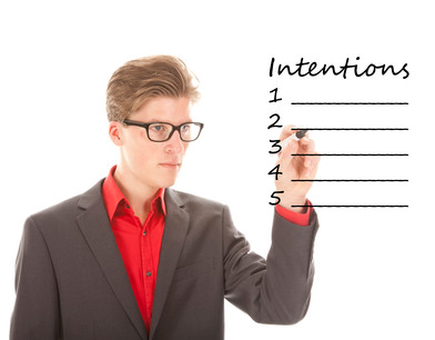 Why you need to be intentional