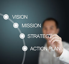 Strategy Planning. Vision, Mission, Strategy, Action Plan,