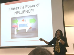 It takes the power of influence
