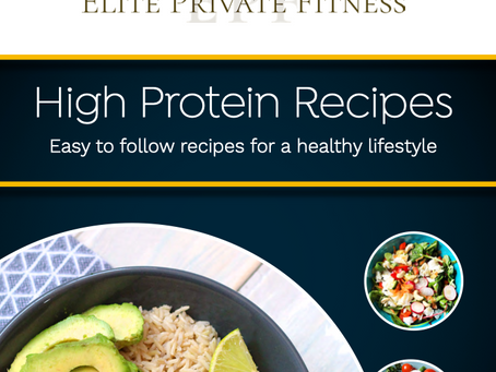 Check out Elite Private Fitness's Healthy High Protein Recipe Book