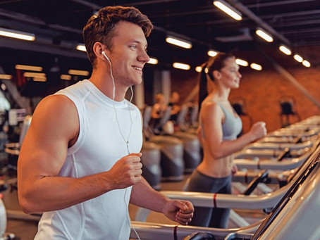 Don't be afraid of the gym, exercise is good for your mental health and your immune system.