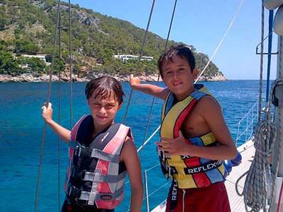 Las excursiones en velero son aptas para todas las edades