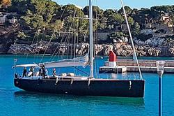 Preciosa estampa del velero