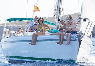 Excursión de medio día en velero compartido en Portocolom en Mallorca