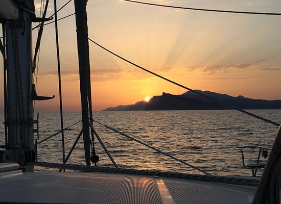 Puesta sol en Puerto de Andratx