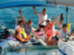 Las excursiones en velero no necesitan experiencia