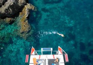 Excursión de un día en catamarán en Menorca compartido