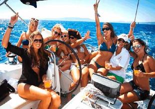 Despedia de soltero y soltera en velero en exclusiva en Palma