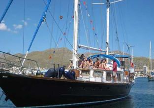 Excursión en velero en el puerto de Pollensa compartido para hasta 10 personas