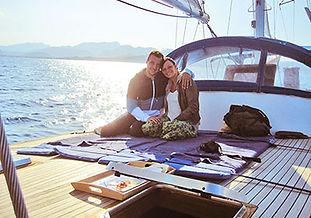 Puesta de sol en velero en exclusiva en el Puerto de Pollensa para hasta 10 personas