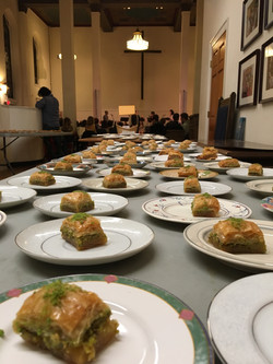 Baklava On Table