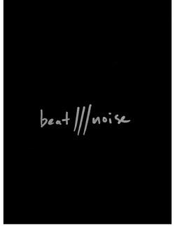 album design for [BEAT///NOISE]