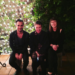 with laurie anderson