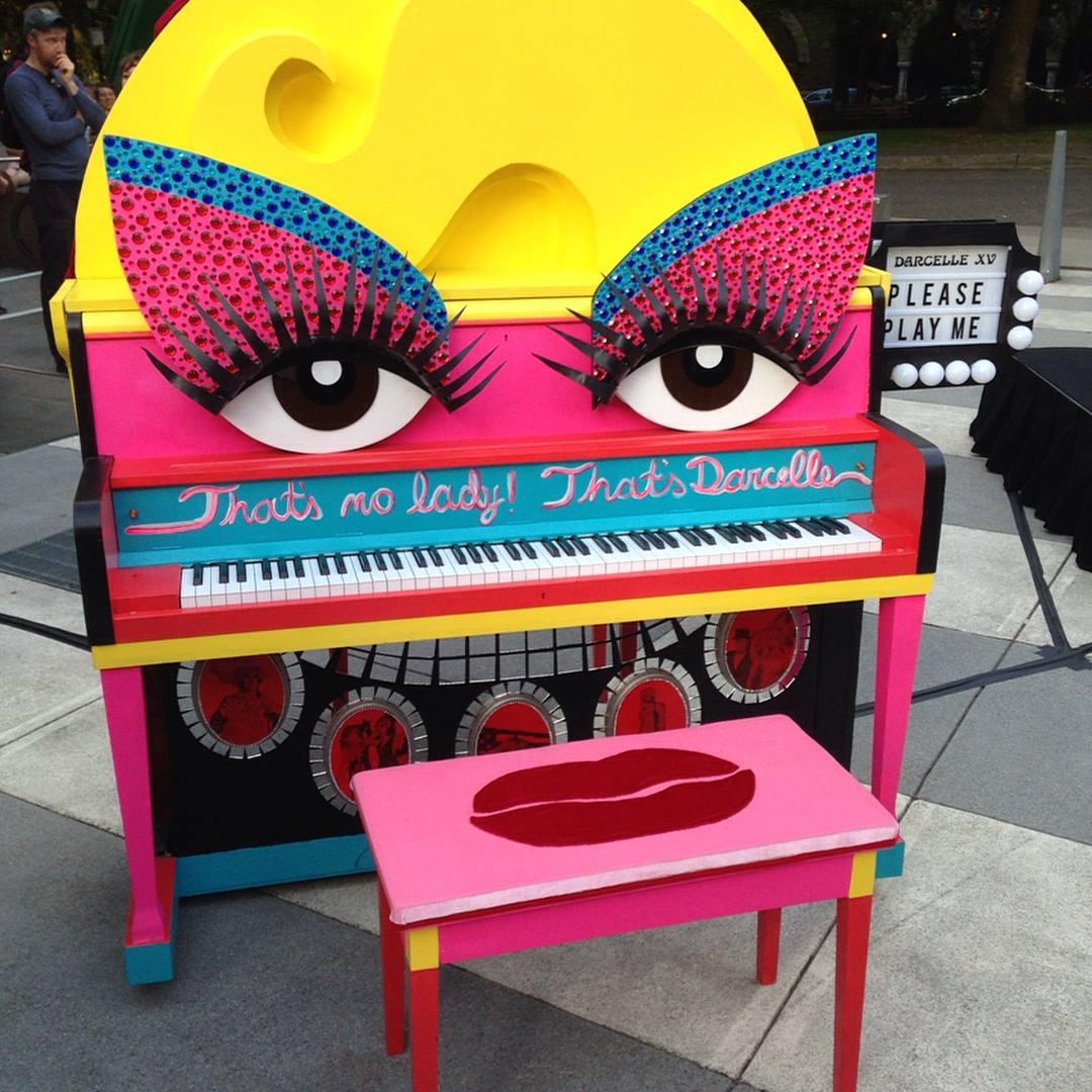 Darcelle XV tribute piano