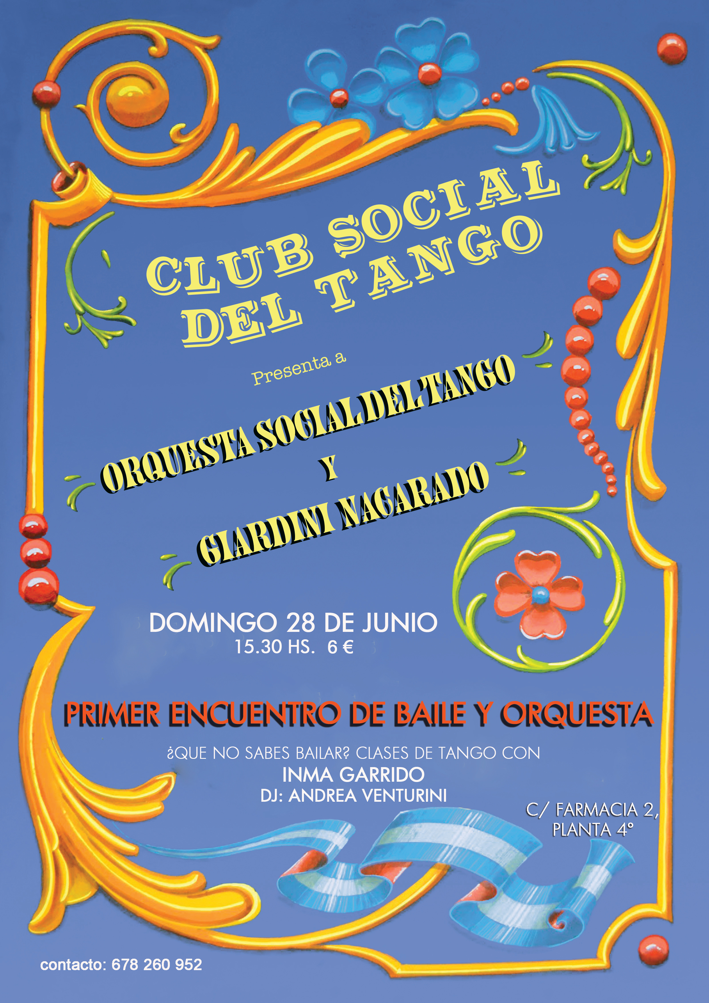 Cartel Club Social color 9 ok