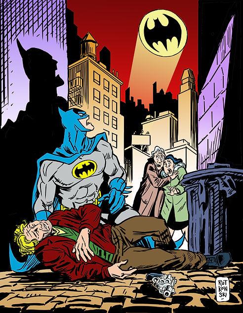 Batman by Chris Rutkowski